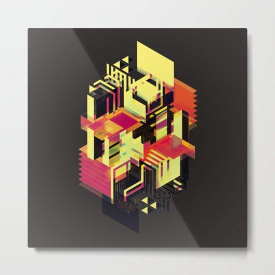 Utopia in Six or Seven Colors Metal Print
