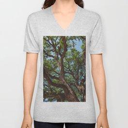 Texas Cottonwood Unisex V-Neck