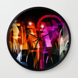 """Motorized"" Wall Clock"