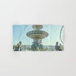 The Fontaines de la Concorde Hand & Bath Towel