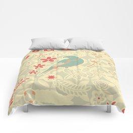 Retro tweety Comforters
