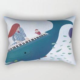 Ponyo fanart Rectangular Pillow