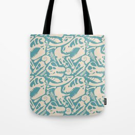 Fossil Pattern Tote Bag