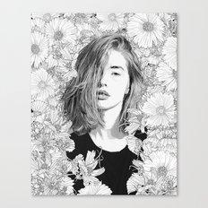 Garden Lounge Canvas Print