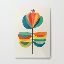 Whimsical Bloom Metal Print