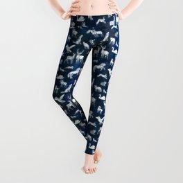 Patronus pattern Leggings