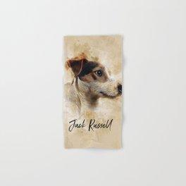 Jack Russell Hand & Bath Towel