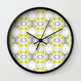 Pattern 43 - Maple Leaf and Branches pattern Wall Clock