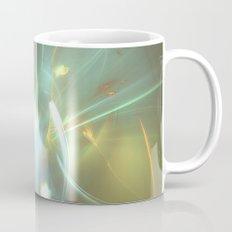 Holiday Glow Fractal Coffee Mug