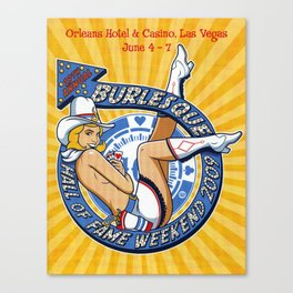 """""""Burlesque Hall of Fame Weekend 2009"""" by R. Black Canvas Print"""