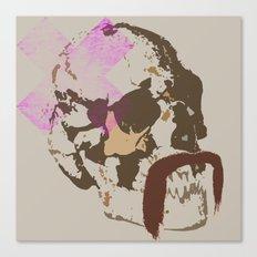 agent skull Canvas Print