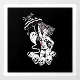 Boys & Ghouls Art Print