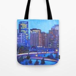 Denver Skyline Tote Bag