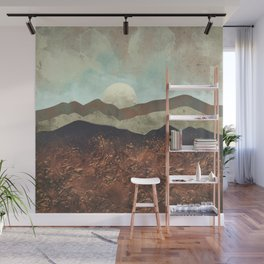 Copper Ground Wall Mural