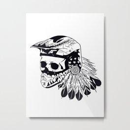 American pride and ride Metal Print