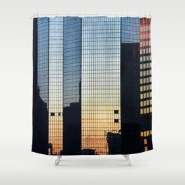 Sunset reflected III. Shower Curtain