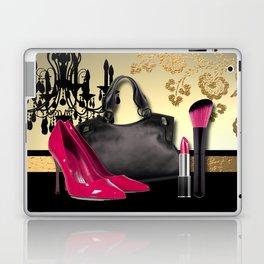 Chandelier Handbag Pumps Cosmetics Fashion Collage Laptop & iPad Skin
