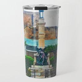Trapani art 12 Sicily Travel Mug
