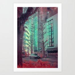 Infrapink 05 Art Print