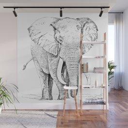 African Elephant Wall Mural