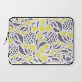 Yellow flowers field Laptop Sleeve