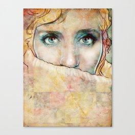 The Eyes Canvas Print
