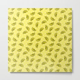 Lemons Collection: A Metal Print