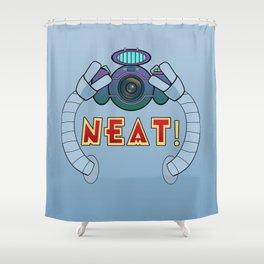Neat! Shower Curtain