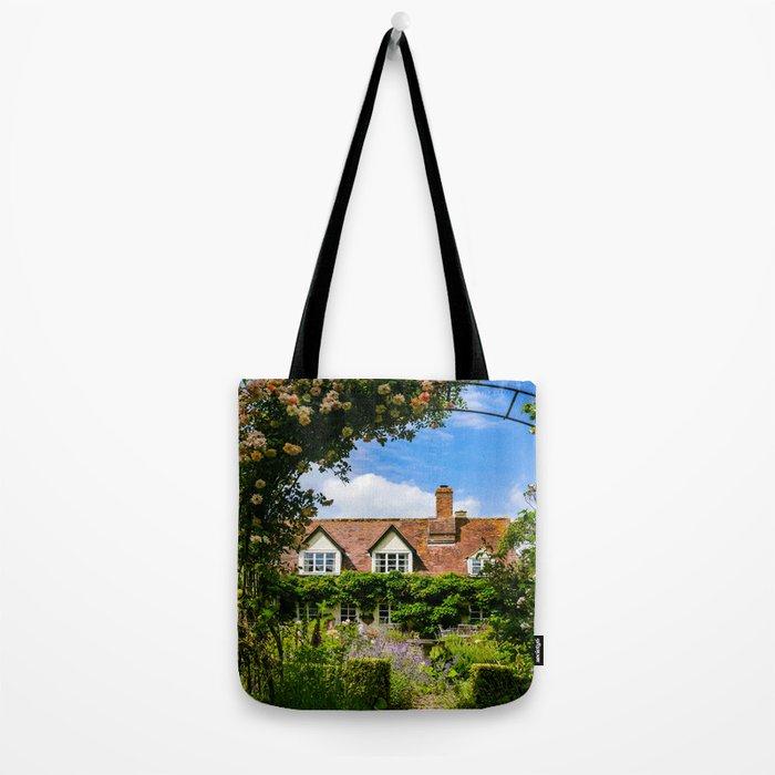Cottage garden. v2 Tote Bag