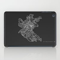 stockholm iPad Cases featuring STOCKHOLM by Nicksman