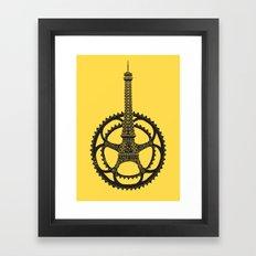 Le Tour de France Framed Art Print