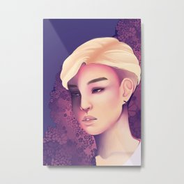Flower Boy Metal Print