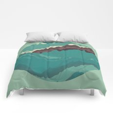 TOPOGRAPHY 004 Comforters