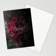 You can do it-red Stationery Cards