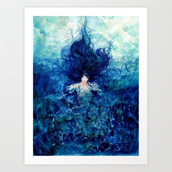 Sky From The Sea Art Print