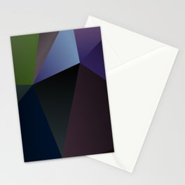 Articulated Absence Polygon Stationery Cards