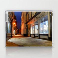 Sandgate, Whitby at Night Laptop & iPad Skin