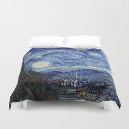 Starry Night by Vincent Van Gogh Bettbezug