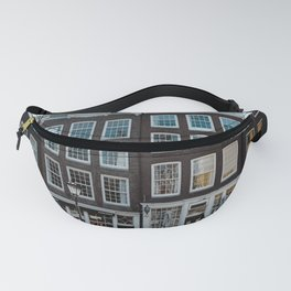 Amsterdam architecture | Travel photography | Buildings and the canals | The Netherlands | Art Print Fanny Pack