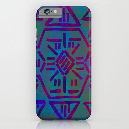 Moonrise - Turquoise iPhone & iPod Case