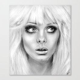 + BAMBI EYES + Canvas Print