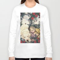 sleeping beauty Long Sleeve T-shirts featuring Sleeping Beauty by Mike Lowe