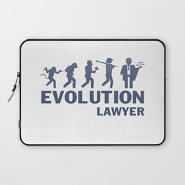 Evolution - Lawyer Laptop Sleeve