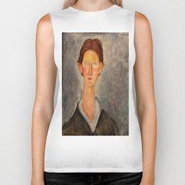"Amedeo Modigliani ""Portrait Of A Student (L'Etudiant)"" Biker Tank"