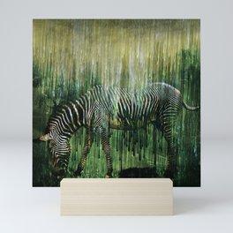 Flowing Stripes Mini Art Print