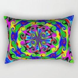 Sea of Acidic Psychedelic Anya Rectangular Pillow