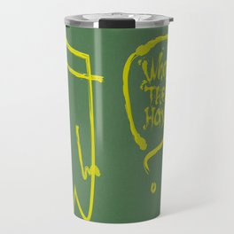 wth? man Travel Mug