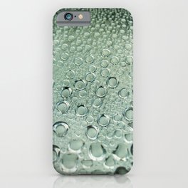 Water and rain iPhone Case