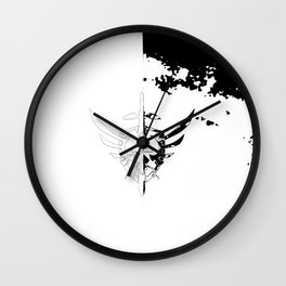 zelda shield Wall Clock