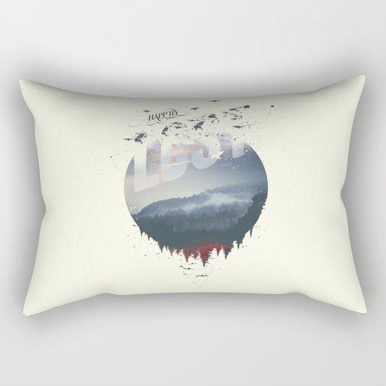 Happily lost Rectangular Pillow